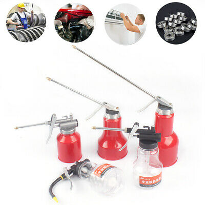 Flex Grease Gun Tools Lubrication Oil Can High Pressure Pump Oiler Oilcan