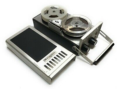 Vintage 1960s Mayfair Portable Reel to Reel All Transistor Tape Recorder Japan