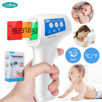 Thermometer Gun Digital LCD IR Laser NO-contact Infrared Temp Gun Adult&Baby Kit