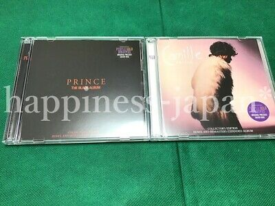 PRINCE The Black Album and Camille PGA CD 4 Disc Set Music Rock Pops Japan F/S