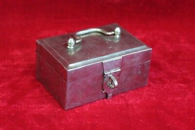 Brass Special Case Box Old Vintage Antique Decorative Collectible PM-30