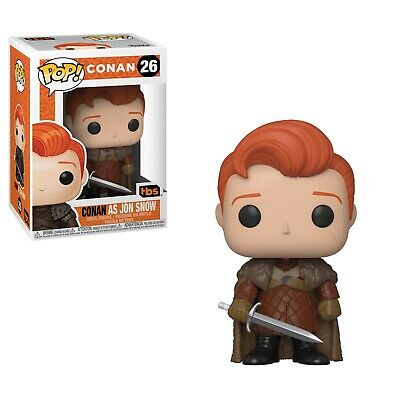 Official Funko Pop Conan as Jon Snow Game Of Thrones GOT 2019 SDCC In Hand!