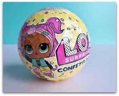 Lol Surprise Confetti Pop Ball Series 3 Wave 1 No Duplicate Doll Big Sister