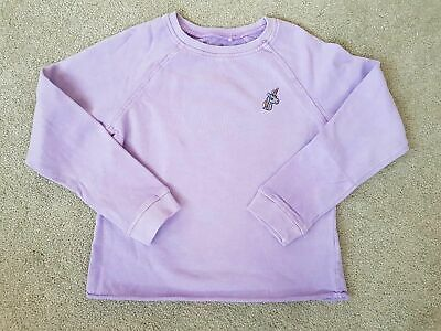 Girls Next Purple Unicorn Sweater Jumper Top age 4-16 Years