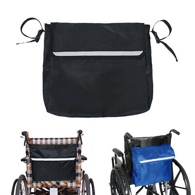 Wheelchair Storage Bag Pouch Mobility Aid Tote Fits Most Scooters Walkers B1