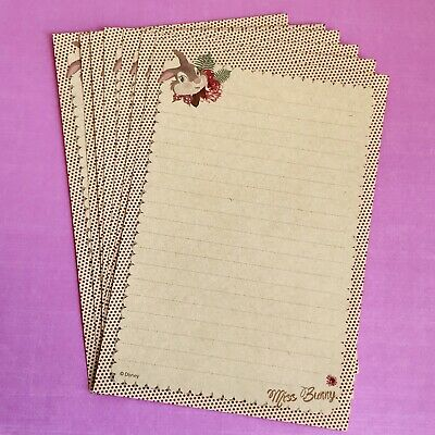 Cute Miss Bunny Letter Writing / Note Paper Scrapbooking/ Planner / Journal