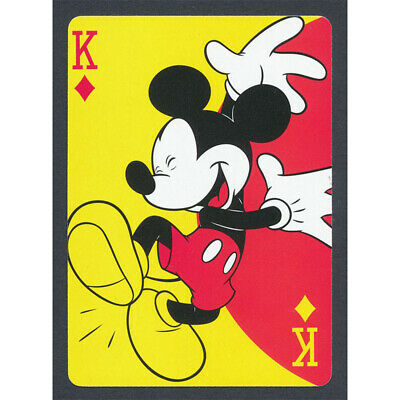 Poker Mickey Full Drill 5D Diamond Painting Embroidery Cross Craft Arts Decor