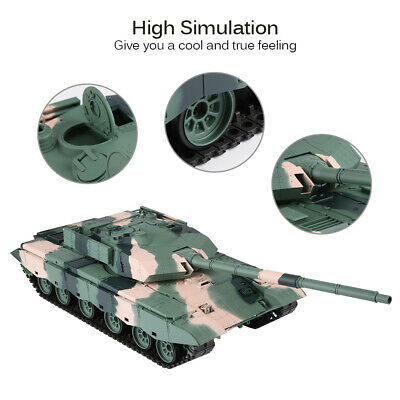 AU STORE 1:16 Scale China ZTZ 99A MBT RC Tank with Camo Shooting