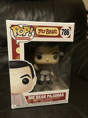 MR BEAN IN PAJAMAS - Funko Pop! TV  #786 in Hand uk