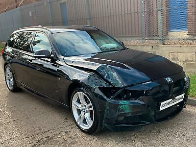 2019 BMW 320d M Sport Auto Touring DAMAGED REPAIRABLE SALVAGE