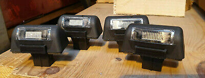 2 x PAIR OF NUMBER PLATE LIGHT LAMP FORD TRANSIT 1985 ON AND CONNECT 2002 ON