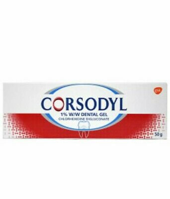 Corsodyl 1% Dental Gel 50g