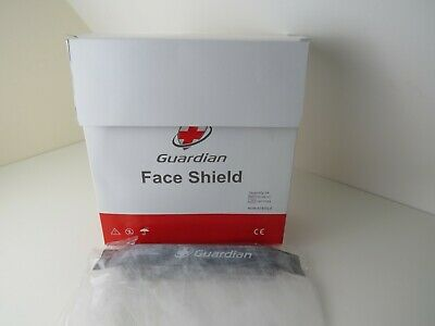 New Guardian Face shield, medical protection from splashing liquids pack of 24