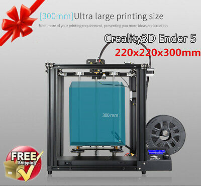 Creality3D Ender 5 Imprimante 3D Printer Industrial 220x220x300mm ABS TPU PLA FR