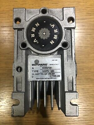 Motovario NMRV 040 100:1 Reduction Gearbox