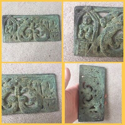 Rare ancient ghandarian bronze plaque, 2nd to 5th Century
