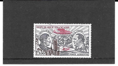 France 1973.GUILLAUMET & Codos Pionniers.timbre Gum Oblitere. Pa. N° 48