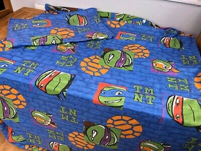 Teenage Mutant Ninja Turtles Reversible Single Bedding with Pillow Case