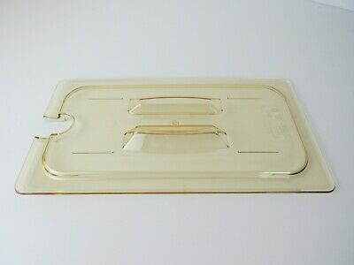 New Cambro Food Pan Cover 1/3 size with handle - pack of 6, VAT included