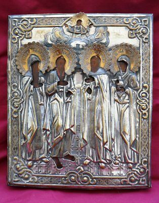 Russian Orthodox Old Believers Icon 19th Century