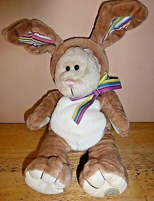 Starbucks 2008 Bearista Bear Easter Bunny Rabbit Suit 75th Edition Plush Toy 11""