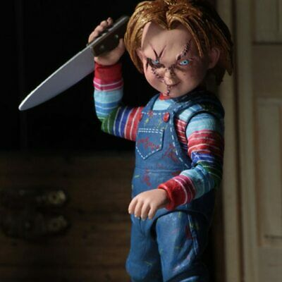 """NECA Chucky Doll 4"""" Ultimate Child's Play Good Guys Action Figure New Toy Gift"""