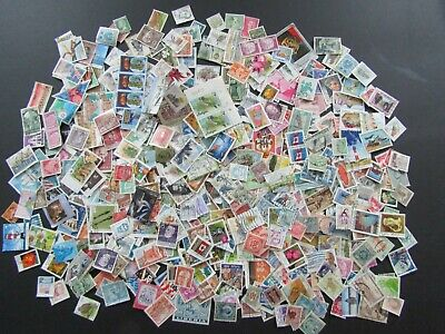 500+ World Stamps. Off Paper. Lot 2.