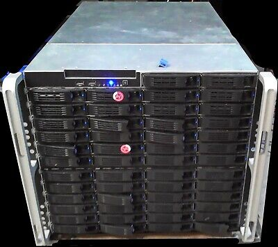 Supermicro Rack mount Server X7DBE 48 Bay + 48HDs 2TB             jh