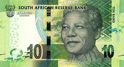 South Africa,2018,10 Rand Nelson Mandela Centenary,Unc Banknotes.(S)