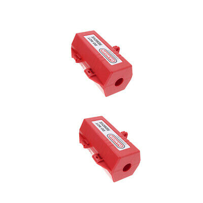 2xLarge Electrical Switch Power Plug Safety Lockout Tagout Box Lock Device