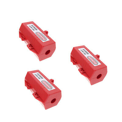 3xLarge Electrical Switch Power Plug Safety Lockout Tagout Box Lock Device