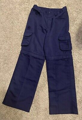 Boy Scouts of America Convertible Switchback Uniform Pants Youth Size 12