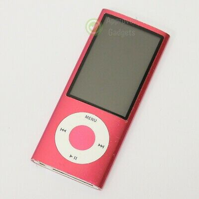 Fully Working Condition Apple iPod Nano 5th Generation 8GB Pink Warranty