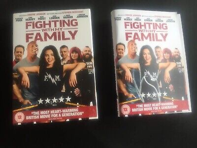 Signed Copy fighting with my family dvd Signed By Paige From WWE
