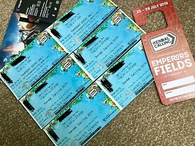 Kendal Calling Thursday Entry, Emperor's Field And Weekend Ticket.