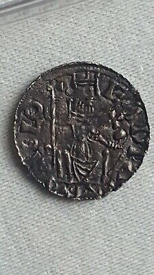 Saxon Hammered Silver Penny Edward The Confessor HTIME Rare Northampton? Mint