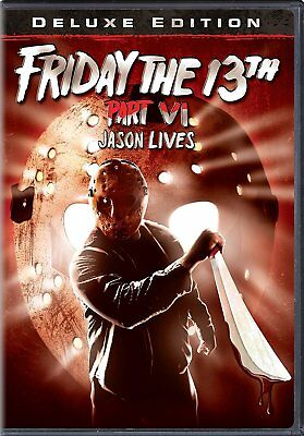 Friday the 13th: Part 6: Jason Lives (DVD, 2009, Deluxe Edition)