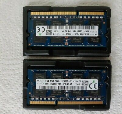 SK hynix 8GB 16GB Laptop Memory Ram DDR3L 1600mhz PC3-12800S 204PIN soDIMM