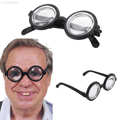 1CF0 Plastic Bookish Glasses Dress Up Glasses Halloween Decoration Cosplay