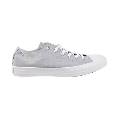 Converse Chuck Taylor All Star OX Mens Shoes Wolf Grey-White 163181F