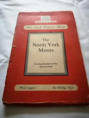 Vintage O/S  Map Of The North York Moors
