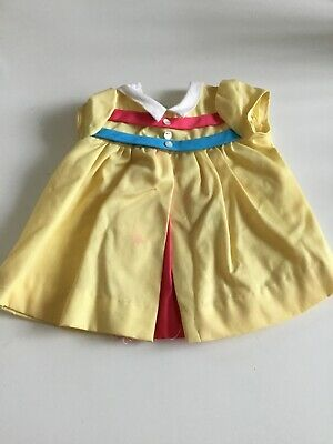 Vintage Chatty Cathy Yellow Dress