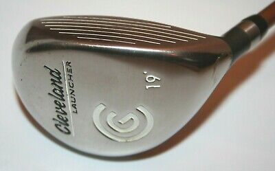 Cleveland Launcher 19 degrees 5 Wood with Launcher Gold 65g stiff flex shaft