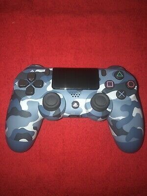 Sony PlayStation Dualshock 4 Gen 2 Controller - Blue Camouflage(CUH-ZCT2U)