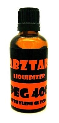 Dabztar™ PEG 400 Liquidiser for Herbal Extracts, Waxes and Oils - 50ml