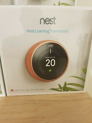 NEST Learning Thermostat, 3rd Generation - Copper - BRAND NEW !!! BEST SELLER!!