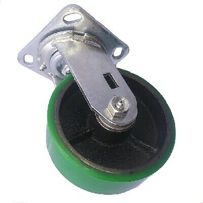 """One 6"""" Polyurethane on Steel Swivel Replacement Caster"""