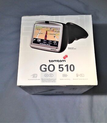 tomtom go 510 Sat Nav – retail / original empty packaging box with plastic inset