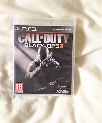 Call Of Duty Black Ops II for Sony ps3 - Playstation 3 - Manual Included - game