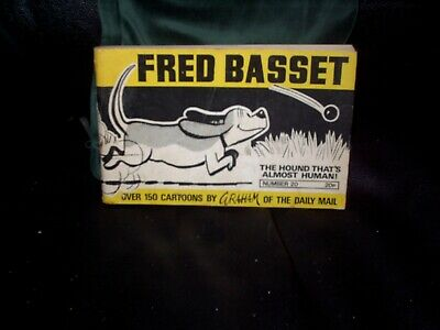 FRED BASSET NO 20. 1971. HARD TO FIND. by GRAHAM of THE DAILY MAIL NEWSPAPER